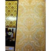 Andre Kim 725-1 Simli Şık Damask Duvar Kağıdı