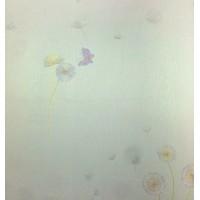 Andre Kim 738-2 Lila Kelebekli Duvar Kağıdı