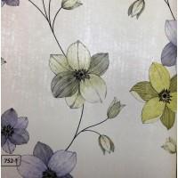 Andre Kim 752-1 Karışık Renkli Çiçek Desenli Duvar Kağıdı