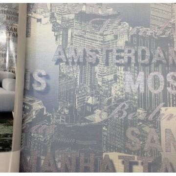 Andre Kim 783-1 Pop Art Yazılı Duvar Kağıdı