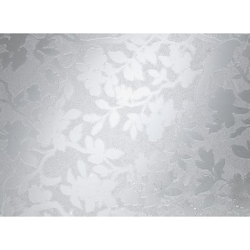 D-C-Fix 346-8355 Çiçek Desenli Buzlu Cam Yapışkanlı Folyo