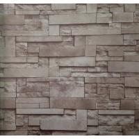 Golden 12696 3D Taş Desenli Duvar Kağıdı