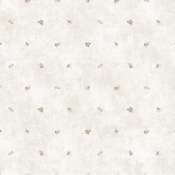 Design Plus 13132-1 Minik Çiçek Desenli Duvar Kağıdı