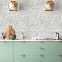 Design Plus 13141-3 Duvar Kağıdı Eskitme Fayans Desen