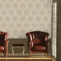 Design Plus 13191-2 Damask Model Duvar Kağıdı