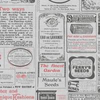 Freedom 14235-1 Gazete Desenli Pop Art Duvar Kağıdı