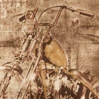 Freedom 14247-1 Motosiklet Desenli Duvar Kağıdı