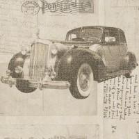 Freedom 14251-2 Otomobil Desenli Duvar Kağıdı