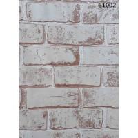 Natural Design 61002 Tuğla Desenli Duvar Kağıdı