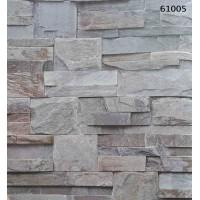Natural Design 61005 Üç Boyutlu Taş Desenli Duvar Kağıdı
