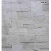 Natural Design 61007 3D Taş Desenli Duvar Kağıdı