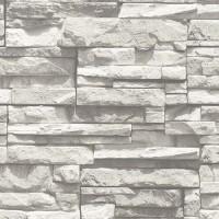 Stone Gallery 85015-1 3D Işık Efektli Taş Desenli Duvar Kağıdı