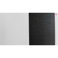 By Project 1336 Siyah Beyaz Çizgili Duvar Kağıdı