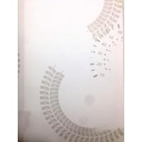 Milky Baby 436-1 Araba Hız Göstergeli Duvar Kağıdı