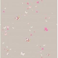Milky Baby 427-1 Kelebek Desenli Duvar Kağıdı