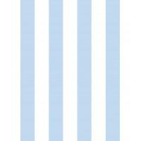 Milky Baby 430-2 Mavili Düz cizgi Duvar Kağıdı