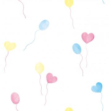 Milky Baby 432-2 Balonlu Çocuk Odası Duvar Kağıdı