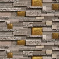 Casa Bene (2) 2520-4 Tuğla Modelli Duvar Kağıdı İthal Kağıt