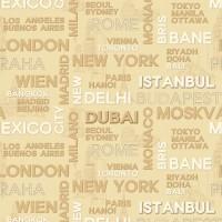 Casa Bene (2) 2522-3 İthal Pop Art Duvar Kağıdı