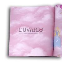 Dekor Classic 828-b Pembe Bulut Desenli Çocuk Odası Duvar Kağıdı