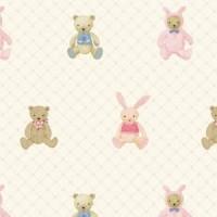 Lohas 87122-1 Ayıcıklı Çocuk Odası Duvar Kağıdı