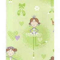 Just 4 Kids G56001 Balerin Çocuk Odası Duvar Kağıdı İthal
