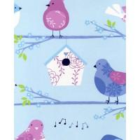 Just 4 Kids G56003 Güvercin Çocuk Odası Duvar Kağıdı