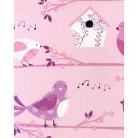 Just 4 Kids G56005 Çocuk Odası İthal Duvar Kağıdı kus Güvercin Temalı
