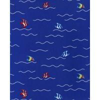 Just 4 Kids G56015 Deniz Temalı Balık Duvar Kağıdı Çocuk Odası