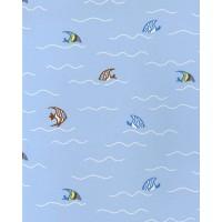 Just 4 Kids G56016 Yüzen Balıklar Çocuk Odası Duvar Kağıdı İthal