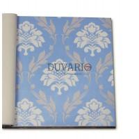 Forever 14714 Damask Mavi Renkli Duvar Kağıdı Nonwoven
