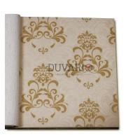 Forever 14912 Altın Doreli Damask Duvar Kağıdı Nonwoven