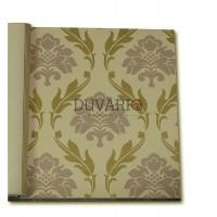 Forever 15103 Altın Varaklı Damask Duvar Kağıdı Nonwoven