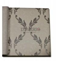 Forever 15104 Gümüş Varaklı Damask Duvar Kağıdı Nonwoven