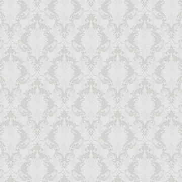 Casa Bene (3) 2114-4 Gri Damask Desenli Duvar Kağıdı