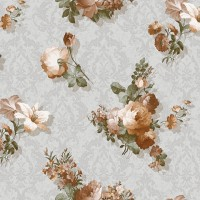 Casa Bene (3) 2115-4 Çiçekli Duvar Kağıdı