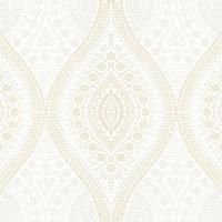 Casa Bene (3) 2536-1 İşlemeli Klasik Duvar Kağıdı