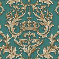 Casa Bene (3) 2574-4 3D Damask Desenli Duvar Kağıdı