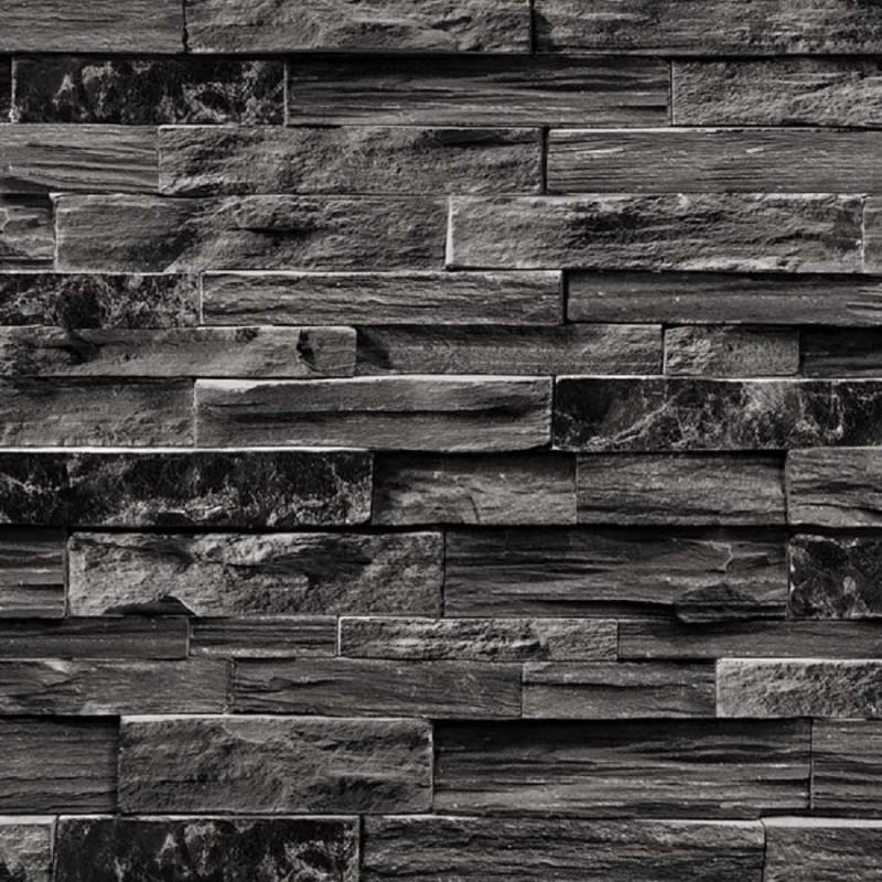 Verena 8253 2 taş desenli İthal duvar kağıdı