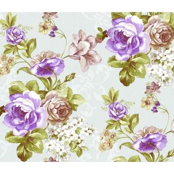 Larte 315-2 Çiçek Desenli Duvar Kağıdı