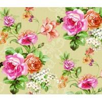 Larte 315-3 Çiçek Desenli Duvar Kağıdı