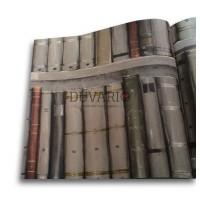 Objet 3102-3 Kütüphane Görünümlü 3D Duvar Kağıdı