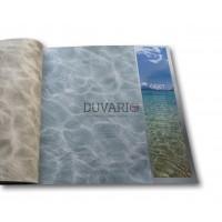 Objet 3104-2 Mavi Okyanus Duvar Kağıdı 3D