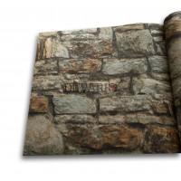 Objet 3106-1 Taş Desenli 3D Duvar Kağıdı