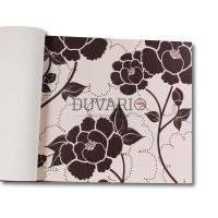 Design Time 1104 Çiçek Desenli Yerli Duvar Kağıdı