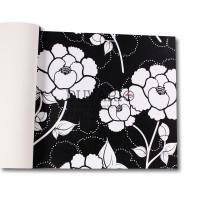 Design Time 1107 Çiçek Desen Yerli Duvar Kağıdı