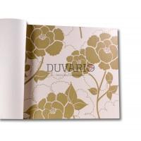 Design Time 1108 Çiçek Desenli Yerli Duvar Kağıdı