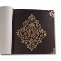 Design Time 1203 Yerli Damask Desen Duvar Kağıdı