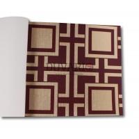 Design Time 1306 Kare Kutulu Yerli Duvar Kağıdı