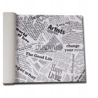 More 2701 Gazete Küpürlü Yerli Duvar Kağıdı